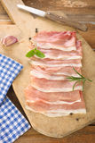 Raw ham Stock Photos