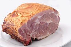 Raw ham meat Royalty Free Stock Image