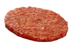 Raw Hamburger meat Stock Images