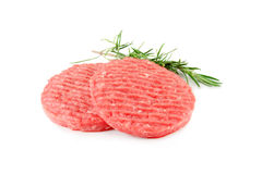 Raw hamburger meat Stock Photography
