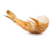 Raw headless shrimp Stock Photo
