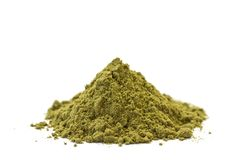 Raw Hemp Protein Stock Photo