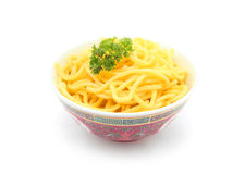 Raw Hokkien Noodle Royalty Free Stock Image
