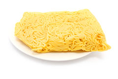 Raw Hokkien Noodle Royalty Free Stock Images