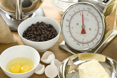 Raw Ingredients Stock Photo
