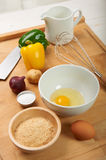Raw ingredients Royalty Free Stock Images