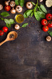 Raw ingredients for cooking Stock Photography
