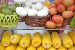 Raw ingredients for making Som Tum (Thai salad) Royalty Free Stock Image