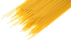 Raw Italian pasta Stock Images