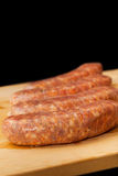 Raw Italian Sausage With Copy Space Royalty Free Stock Photo