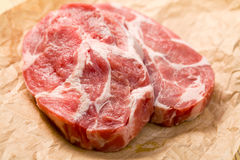 Raw juicy meat Stock Image