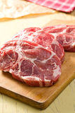 Raw juicy meat Stock Images
