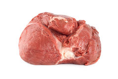 Raw juicy meat isolated Royalty Free Stock Photos