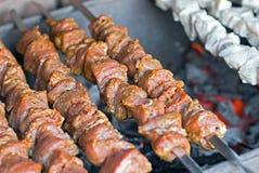 Raw kebab Stock Photos