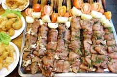 Raw kebab Royalty Free Stock Photography