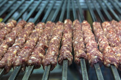 Raw kebab Royalty Free Stock Photos