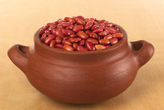 Raw Kidney Beans Royalty Free Stock Images