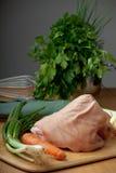 Raw knuckle of pork Stock Photos
