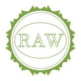 Raw label stock photo