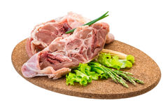 Raw lamb Royalty Free Stock Photo