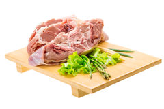Raw lamb Stock Photography