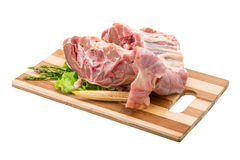 Raw lamb Royalty Free Stock Photography