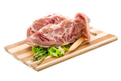 Raw lamb Royalty Free Stock Image