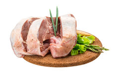 Raw lamb Royalty Free Stock Images