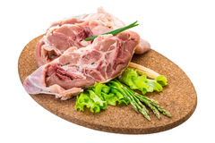 Raw lamb Stock Photo
