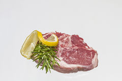 Raw lamb cutlet Stock Photo