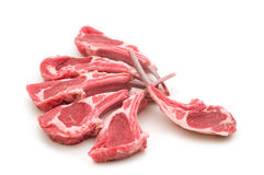 Raw lamb meat royalty free stock photos