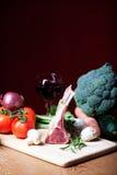 Raw lamb meat Stock Photos