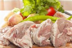 Raw lamb meat Stock Photography