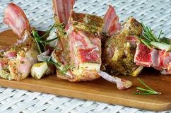 Raw Lamb Ribs Royalty Free Stock Photo