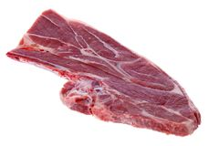 Raw Lamb Shoulder Stock Image