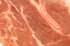 Raw Lamb Shoulder Texture Stock Image