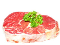 Raw lean pork Royalty Free Stock Photo