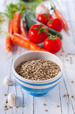 Raw lentil for cooking Stock Photography