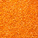 Raw lentil Stock Photo