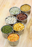 Raw lentils Stock Photos