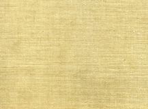 Raw linen texture Stock Images
