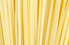 Raw linguine pasta Stock Images