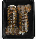 Raw Lobster Tails Royalty Free Stock Image