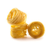 Raw macaroni Stock Photo