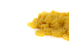 Raw macaroni Royalty Free Stock Photos
