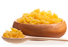 Raw macaroni Stock Photography