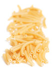 Raw macaroni pasta Royalty Free Stock Photo