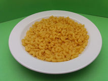 Raw macaroni pasta Stock Photo