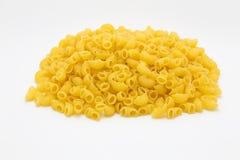 Raw macaroni pasta Stock Image