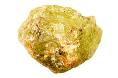 Raw Mali Garnet Royalty Free Stock Image